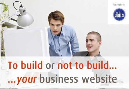 To build or not to build your business website
